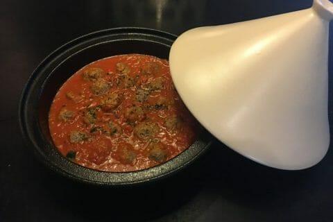 Boulettes de viandes à la sauce tomate Thermomix par Mokaroyal