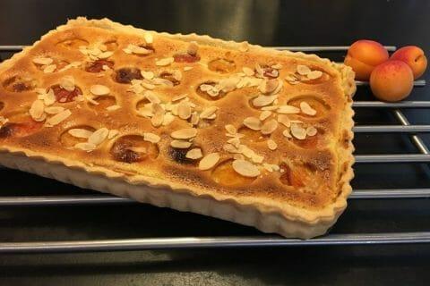 Tarte amandine aux abricots Thermomix par Mokaroyal