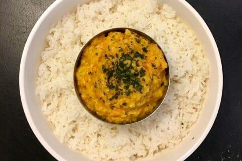 Dhal de patate douce et de lentilles corail Thermomix par Mokaroyal