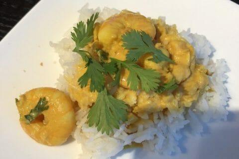 Curry de crevettes au lait de coco Thermomix par Marymai