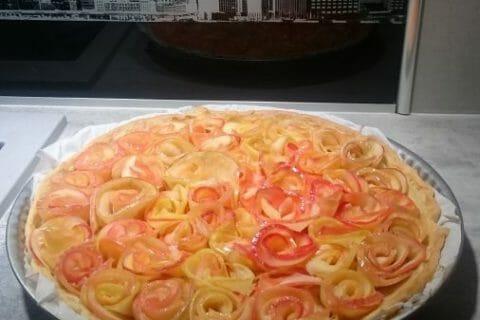 Roses feuilletées aux pommes Thermomix par Patrice