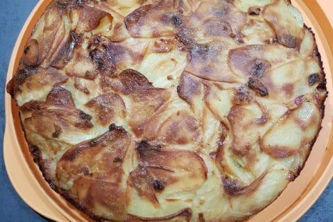 Gâteau invisible raclette Thermomix par mariepaule88