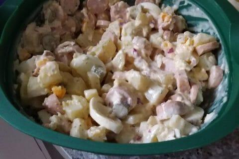 Salade strasbourgeoise Thermomix par Nathalie7665