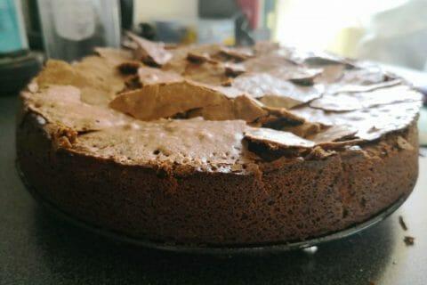 Gâteau macaroné au chocolat Thermomix par Emilye1407