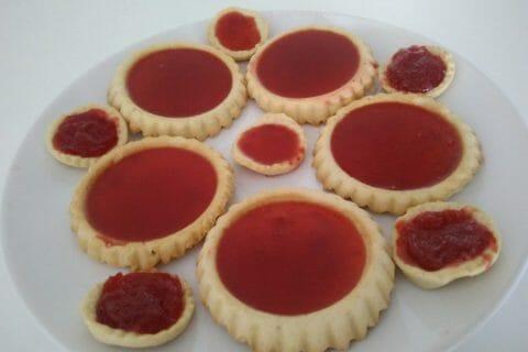Mini tartelettes aux fraises Thermomix par AurelineB