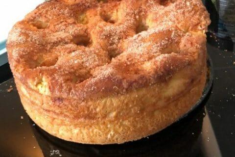 Zimmetkuche – gâteau à la cannelle Alsacien Thermomix par vaneb