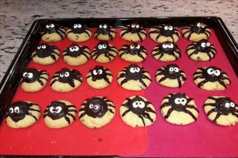 Spider cookies (cookies araignées) Thermomix par Timeo63