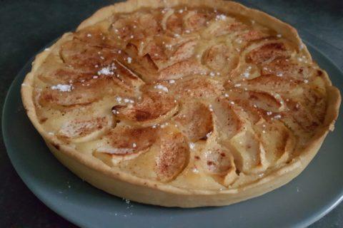 Tarte amandine aux abricots Thermomix par cocobouss@69