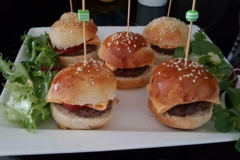 Mini burgers Thermomix par cocobouss@69