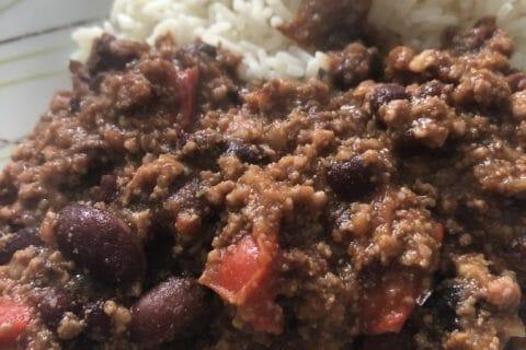 Chili con carne Thermomix par Tiboutch