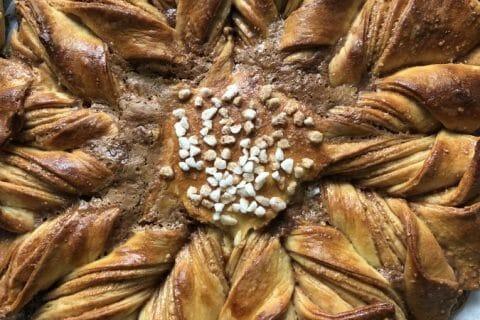Brioche étoilée au Nutella Thermomix par Tiboutch