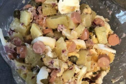 Salade strasbourgeoise Thermomix par Tiboutch