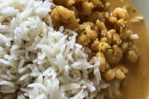 Curry de crevettes au lait de coco Thermomix par Tiboutch