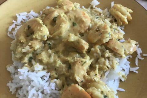 Curry de crevettes au lait de coco Thermomix par Nimaux