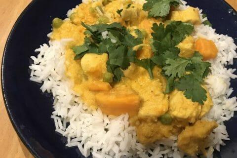 Curry de poulet aux patates douces Thermomix par Nimaux