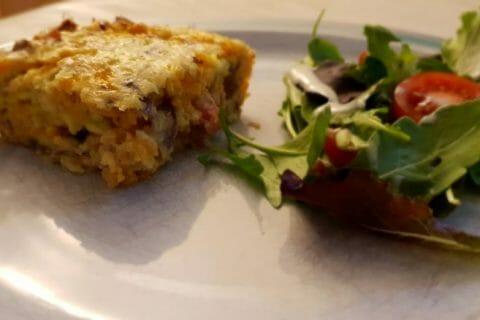 Zucchini slice – Pain de courgettes australien Thermomix par Antoine34