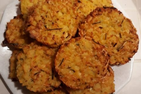 Galettes de pommes de terre au four Thermomix par Atchoum101