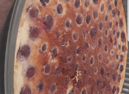 Clafoutis aux raisins frais au Thermomix