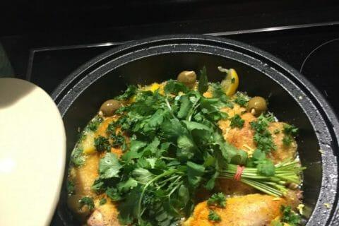 Tajine de poulet aux olives Thermomix par Myriam