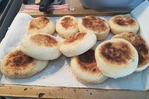 Muffins anglais Thermomix par DIDINELBV