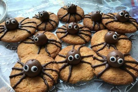 Spider cookies (cookies araignées) Thermomix par NathalieH