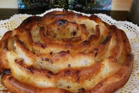 Gâteau des femmes pressées poires et chocolat Thermomix par Josiane66