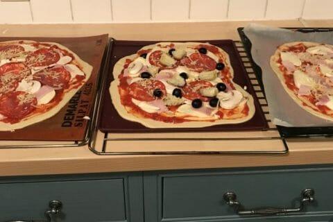 Pâte à pizza Thermomix par SandOise