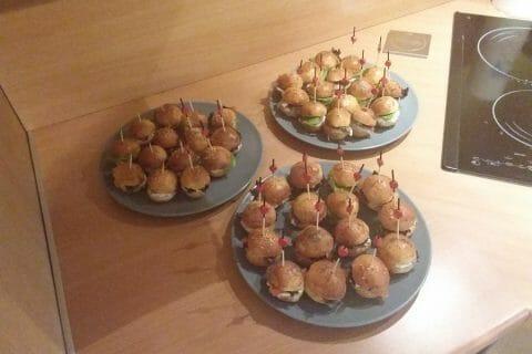 Mini burgers Thermomix par Reinette78