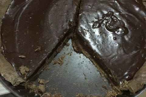 Tarte tout chocolat Thermomix par Bishette13