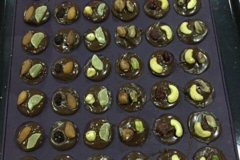 Mendiants au chocolat Thermomix par Bishette13