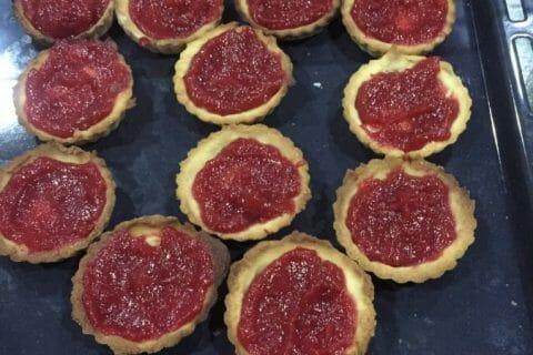 Mini tartelettes aux fraises Thermomix par Bishette13
