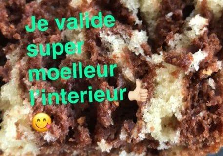 Marbré au chocolat Thermomix par Nadia38