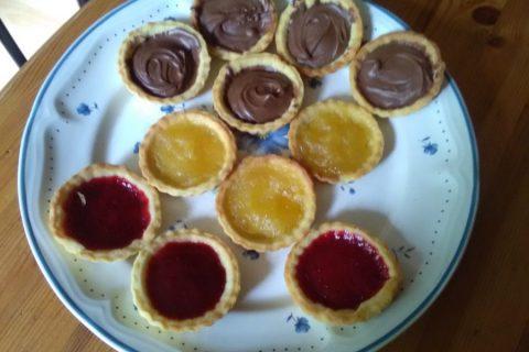 Mini tartelettes aux fraises Thermomix par Bruelle