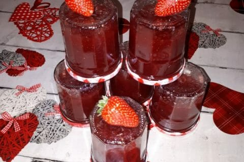 Confiture de fraises Thermomix par Maybe