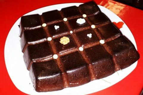 Gâteau au chocolat et courgettes Thermomix par Maybe