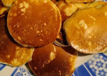 Pancakes à la banane Thermomix par laetitia beziat