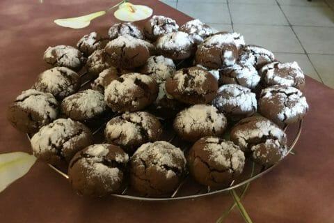 Craquelés au chocolat Thermomix par Rosimix