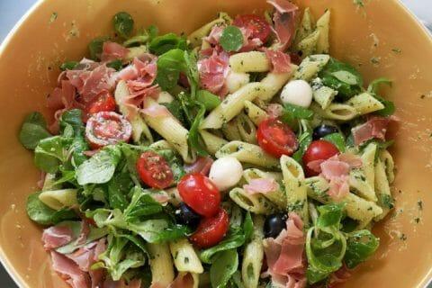 Salade de penne à l'italienne Thermomix par Linotte