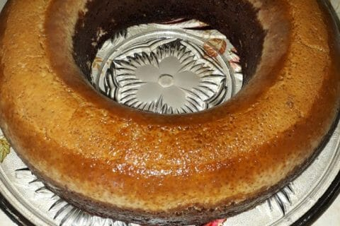 Chocoflan Thermomix par coquette43
