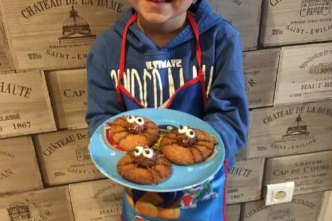 Spider cookies (cookies araignées) Thermomix par chatmallow63