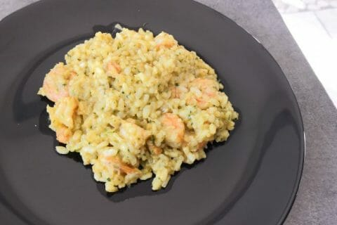 Risotto crevettes et curry Thermomix par Lor72