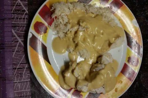 Blancs de poulet sauce moutarde et curry Thermomix par Jerome57140