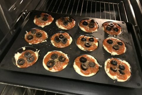 Muffins salés façon pizza Thermomix par smily78