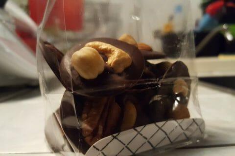 Mendiants au chocolat Thermomix par Raccoon