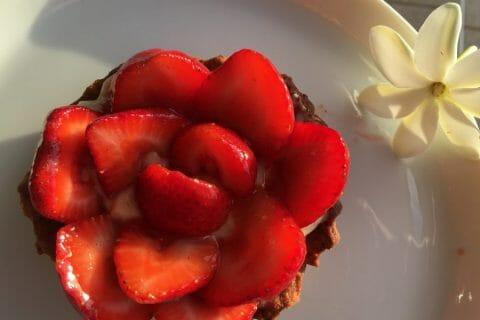 Tarte aux fraises Thermomix par LadyDi Tahiti