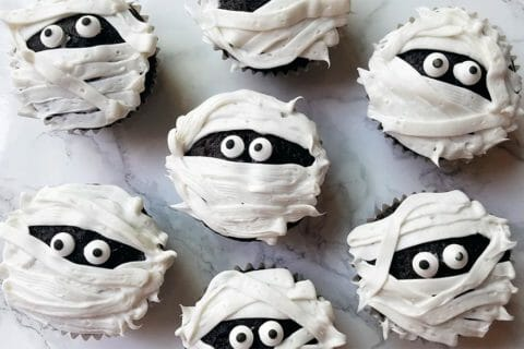 Cupcakes momie au Thermomix
