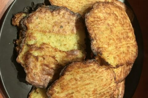 Galettes de pommes de terre au four Thermomix par RuDy34