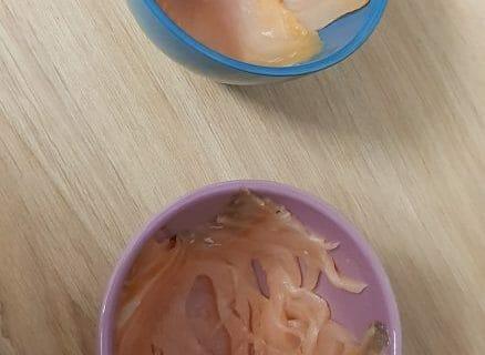 Timbales de courgettes et saumon fumé Thermomix par Dounia216