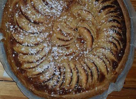 Tarte normande aux pommes Thermomix par Dounia216