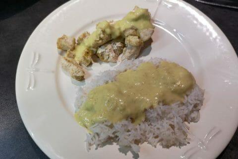 Blancs de poulet sauce moutarde et curry Thermomix par SEADOO